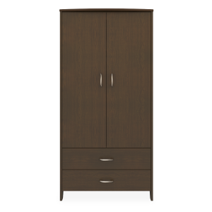 Kwalu product: Essex Double Wardrobe, 2 Drawers, 2 Doors