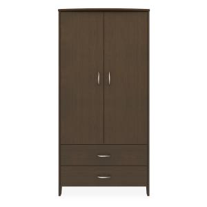 Kwalu product: Essex Double Wardrobe, 2 Drawers, 2 Doors