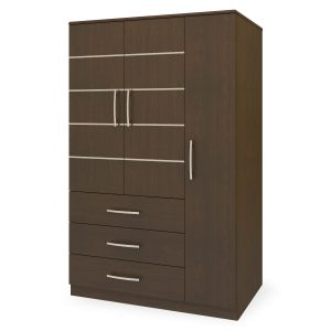 Kwalu product: Hollywood Armoire Wardrobe, 3 Drawers, 3 Doors
