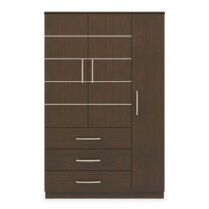 Kwalu product: Hollywood Armoire Wardrobe, 3 Drawers, 3 Doors