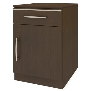 Kwalu product: Hollywood Bedside Cabinet, 1 Drawer, 1 Door
