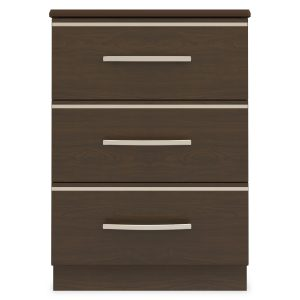 Kwalu product: Hollywood Bedside Cabinet, 3 Drawers