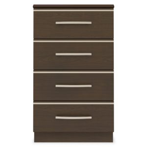 Kwalu product: Hollywood Bedside Cabinet, 4 Drawers