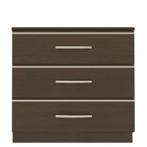 Kwalu product: Hollywood Chest Wide, 3 Drawers