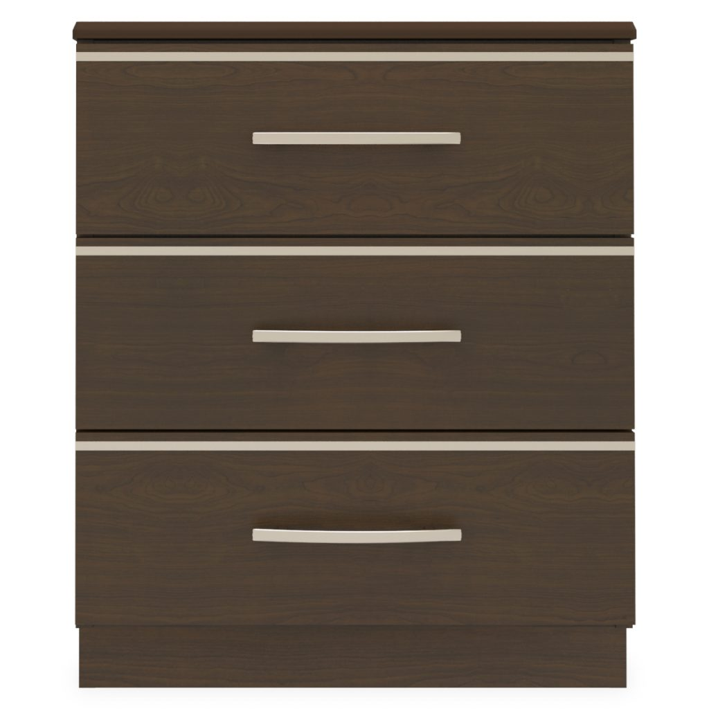 Hollywood Chest, 3 Drawers - Kwalu