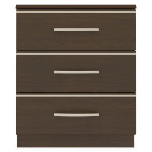 Kwalu product: Hollywood Chest, 3 Drawers
