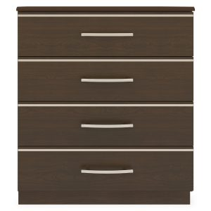 Kwalu product: Hollywood Chest Wide, 4 Drawers