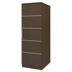 Kwalu product: Hollywood Single Wardrobe, No Drawers, 1 Door