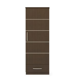 Kwalu product: Hollywood Single Wardrobe, 1 Drawer, 1 Door