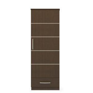 Kwalu product: Hollywood Single Wardrobe, 1 Drawer, 1 Door