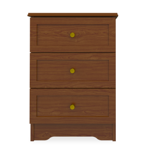 Kwalu product: Lancaster Bedside Cabinet, 3 Drawers