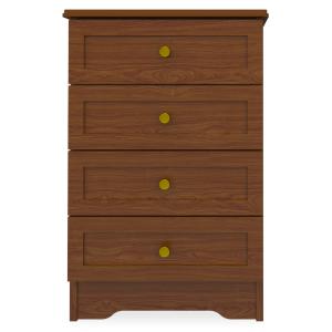 Kwalu product: Lancaster Bedside Cabinet, 4 Drawers