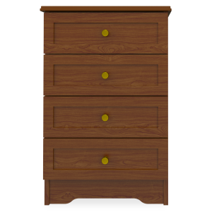 Kwalu product: Lancaster Bedside Cabinet, 4 Drawers