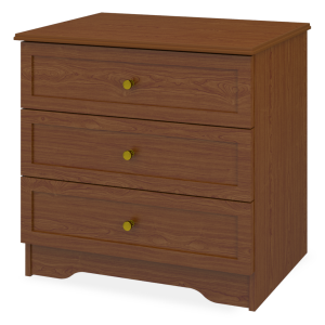 Kwalu product: Lancaster Chest Wide, 3 Drawers