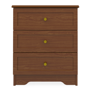 Kwalu product: Lancaster Chest, 3 Drawers