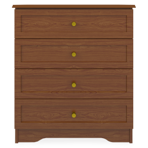 Kwalu product: Lancaster Chest Wide, 4 Drawers