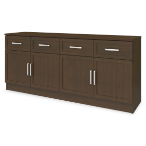 "Kwalu product: Lancaster Media Console with Drawers – 72""W"