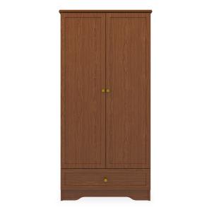 Kwalu product: Lancaster Double Wardrobe, 1 Drawer, 2 Doors