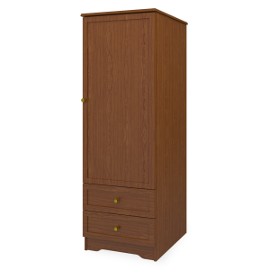 Kwalu product: Lancaster Single Wardrobe, 2 Drawers, 1 Door