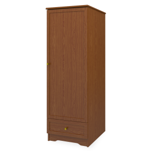 Kwalu product: Lancaster Single Wardrobe, 1 Drawer, 1 Door
