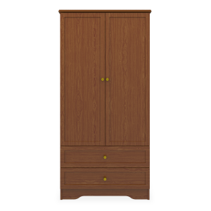 Kwalu product: Lancaster Double Wardrobe, 2 Drawers, 2 Doors