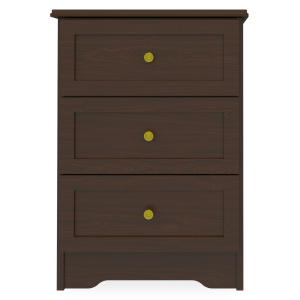 Kwalu product: Mission Bedside Cabinet, 3 Drawers
