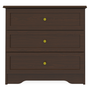 Kwalu product: Mission Chest Wide, 3 Drawers