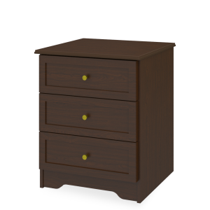 Kwalu product: Mission Chest, 3 Drawers