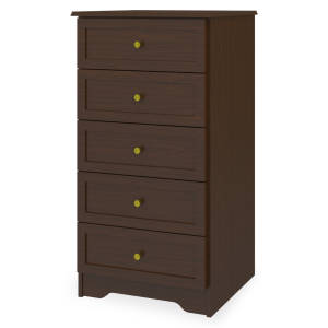 Kwalu product: Mission Chest, 5 Drawers