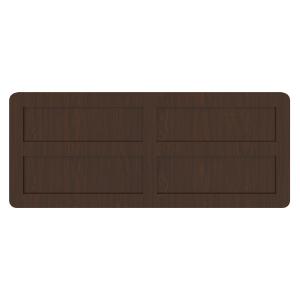 Kwalu product: Mission Footboard