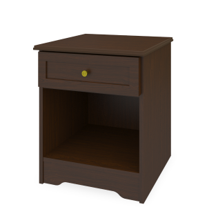 Kwalu product: Mission Nightstand, 1 Drawer