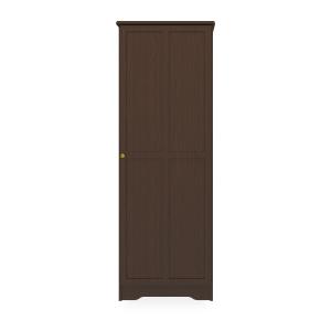 Kwalu product: Mission Single Wardrobe, No Drawers, 1 Door