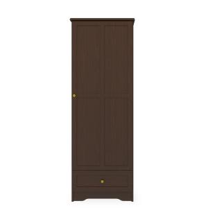Kwalu product: Mission Single Wardrobe, 1 Drawer, 1 Door