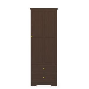 Kwalu product: Mission Single Wardrobe, 2 Drawers, 1 Door