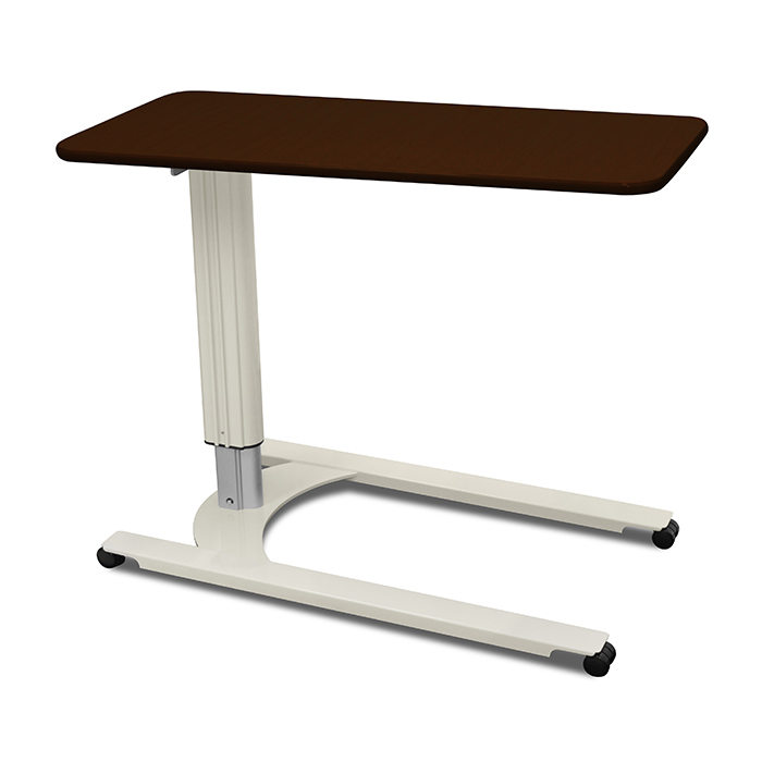 Overbed Tables Low Profile Gas Assist U–Base - Kwalu