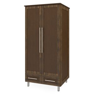 Kwalu product: Tempe Alzheimers Double Wardrobe, 2 Drawers, 2 Doors