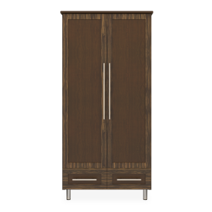 Kwalu product: Tempe Alzheimers Double Wardrobe, 2 Drawers, 2 Doors
