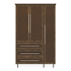 Tempe Armoire Wardrobe, 3 Drawers, 3 Doors - Kwalu
