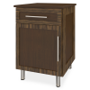 Tempe Bedside Cabinet, 1 Drawer, 1 Door - Kwalu