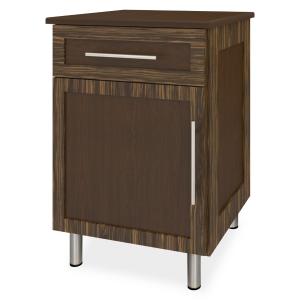 Kwalu product: Tempe Bedside Cabinet, 1 Drawer, 1 Door