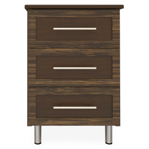 Kwalu product: Tempe Bedside Cabinet, 3 Drawers