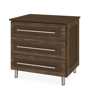 Kwalu product: Tempe Chest Wide, 3 Drawers