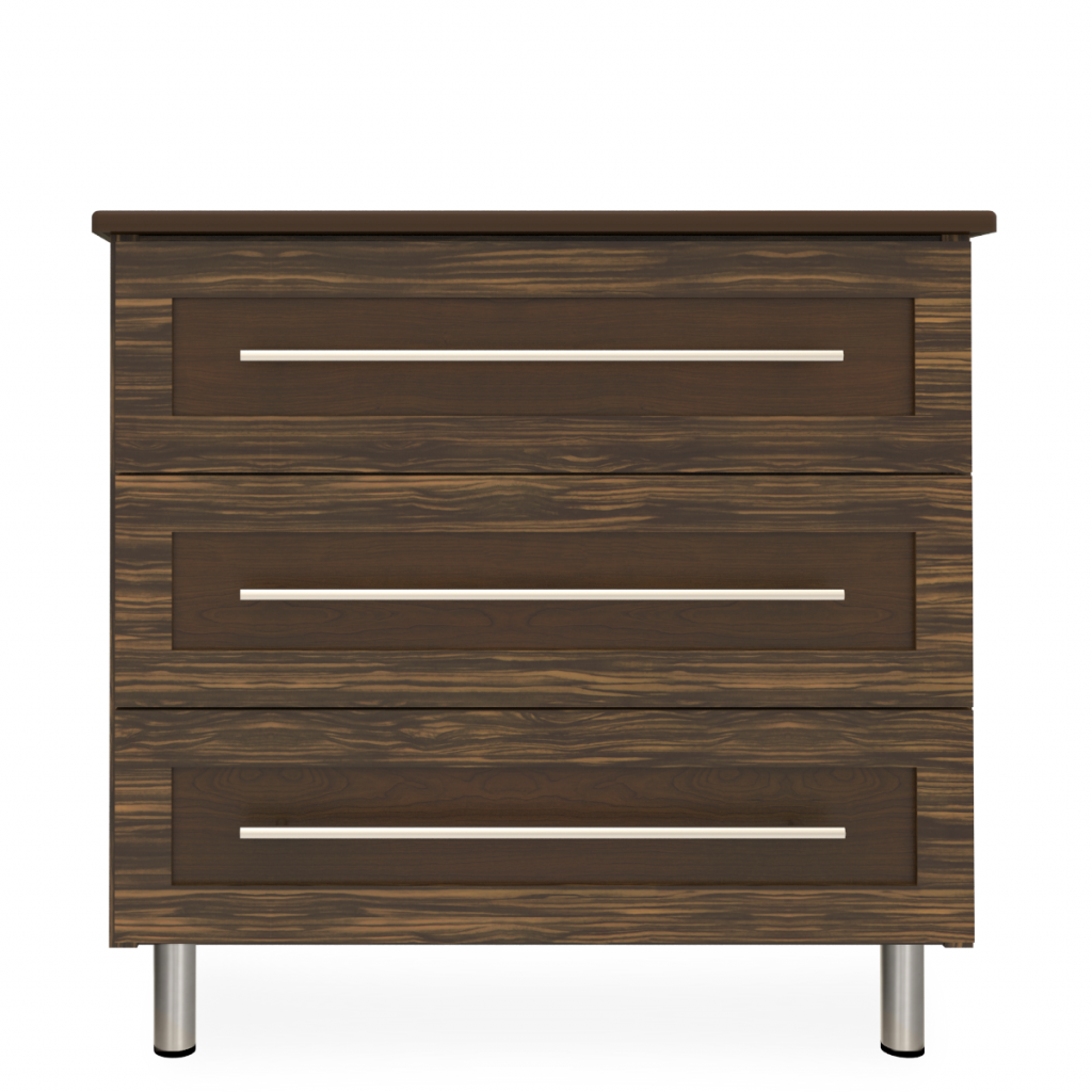 Tempe Chest Wide, 3 Drawers - Kwalu
