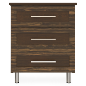 Kwalu product: Tempe Chest, 3 Drawers