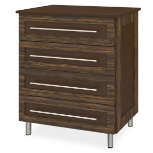 Kwalu product: Tempe Chest Wide, 4 Drawers