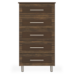 Kwalu product: Tempe Chest, 5 Drawers
