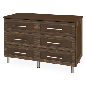Kwalu product: Tempe Dresser, 6 Drawers