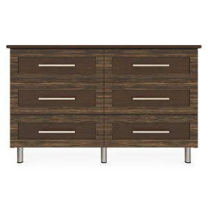 Kwalu product: Tempe Dresser, 6 Drawers