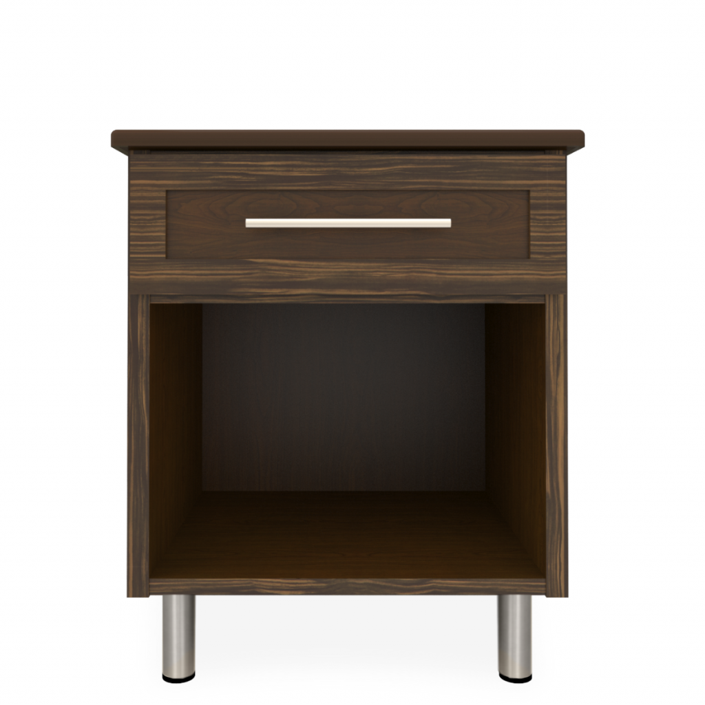 Tempe Nightstand, 1 Drawer - Kwalu