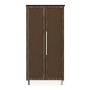 Kwalu product: Tempe Double Wardrobe, No Drawers, 2 Doors